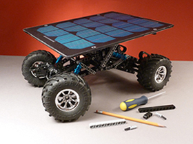 Lunor Rover with Custom Solar Panel